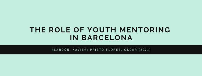 Youth mentoring in Barcelona